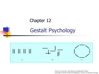 Ch12: Gestalt Psychology