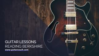 Guitar lessons Reading - Guitar Couch Lessons