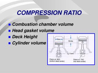COMPRESSION RATIO