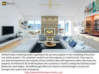 Best 3D Real Estate Rendering Ahmadabad Studio