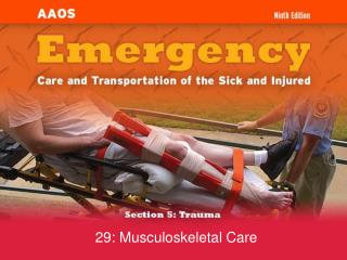 29: Musculoskeletal Care