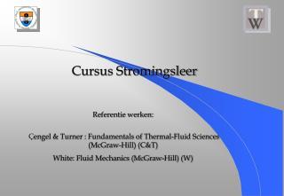 Cursus Stromingsleer