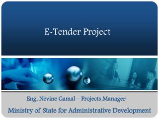 E-Tender Project
