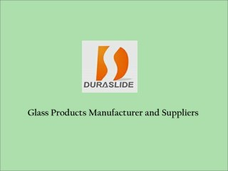 Glass Materials Manufacturers