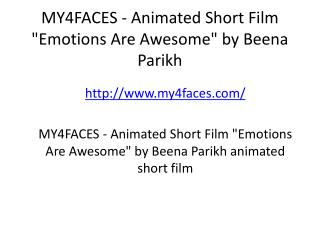 MY4FACES - Animated Short Film