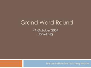 Grand Ward Round