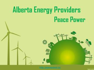 Alberta Energy Providers