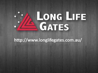 Electric Cantilever Gates Maker Melbourne