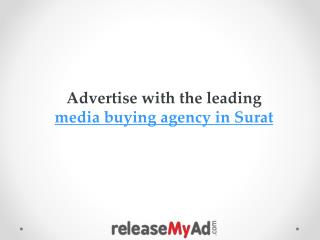 Media Buying Agency in Surat with lowest rates.