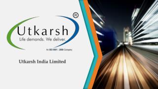 Utkarsh India Limited