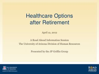 Healthcare Options  after Retirement