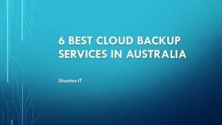 Best Cloud Backup Services in Australia