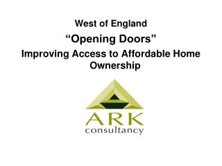 West of England   Opening Doors  Improving Access to Affordable Home Ownership
