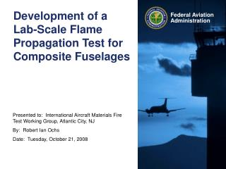 Development of a Lab-Scale Flame Propagation Test for Composite Fuselages