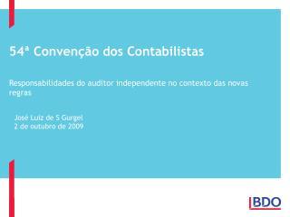 54  Conven  o dos Contabilistas