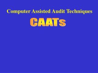 CAATs