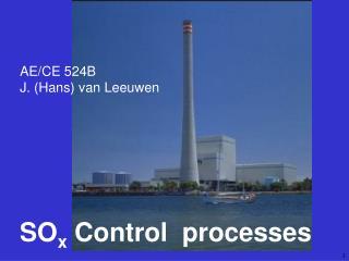 SOx Control  processes