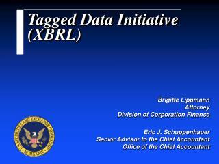 Tagged Data Initiative XBRL