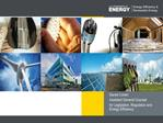 Energy Efficiency and Renewable Energy in the United States
