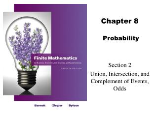 Chapter 8   Probability