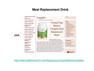 Complete Meal Replacement Shake