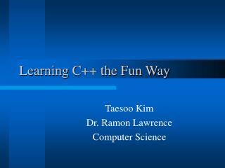 Learning C the Fun Way