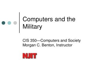Computers and the Military