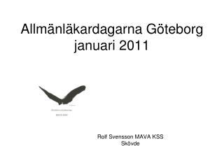 Allm nl kardagarna G teborg januari 2011