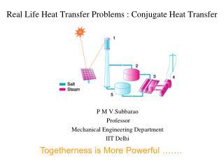 Real Life Heat Transfer Problems : Conjugate Heat Transfer