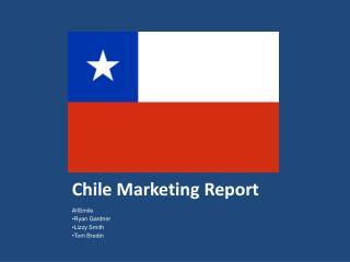 Chile Marketing Report