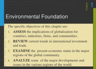 Environmental Foundation