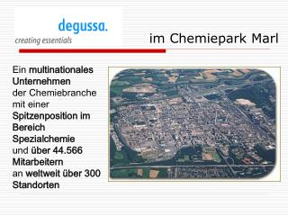 Im Chemiepark Marl