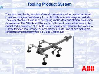 Tooling Product System