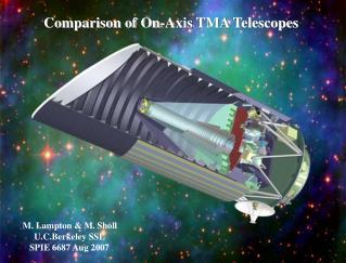 Comparison of On-Axis TMA Telescopes