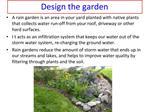 Design the garden