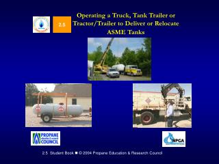 Operating a Truck, Tank Trailer or Tractor
