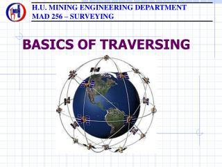 BASICS OF TRAVERSING