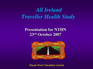 All Ireland  Traveller Health Study