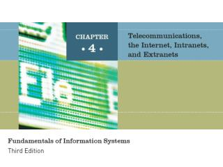 Chapter 4: Telecommunications