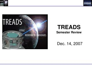 TREADS Semester Review
