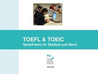 Anja Ecks: TOEFL