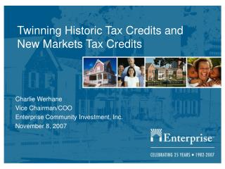 Twinning Historic Tax Credits and New Markets Tax Credits