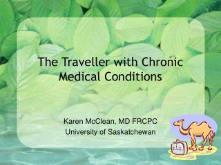 The Traveller with Chronic Medical Conditions