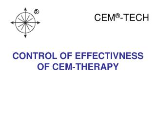 CONTROL OF EFFECTIVNESS OF CEM-THERAPY
