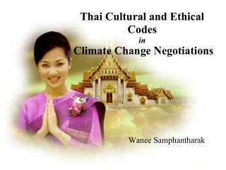 Wanee Samphantharak