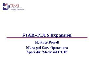 STARPLUS Expansion