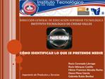 DIRECCI N GENERAL DE EDUCACI N SUPERIOR TECNOL GICA INSTITUTO TECNOL GICO DE CIUDAD VALLES