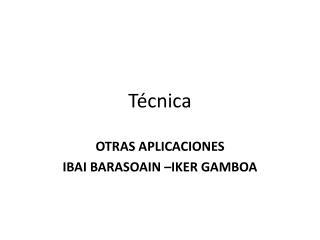 T cnica