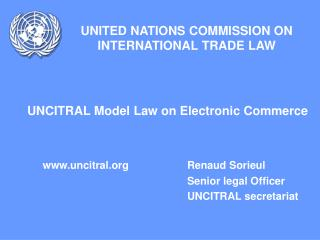 UNITED NATIONS COMMISSION ON INTERNATIONAL TRADE LAW