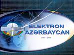 ELEKTRON  AZRBAYCAN